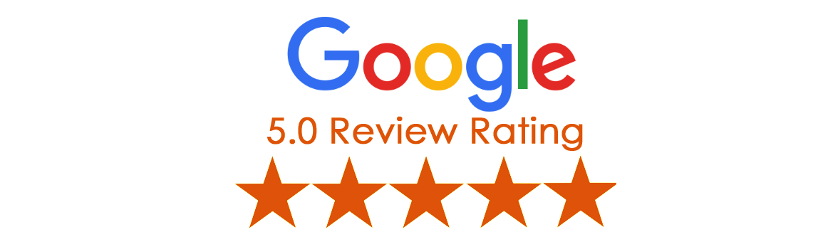5.0 Google Rating